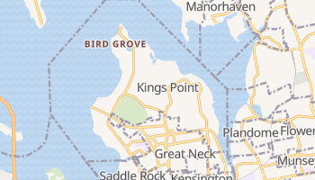 Kings Point, New York map