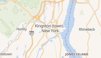 Kingston, New York map