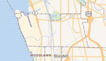 Lackawanna, New York map
