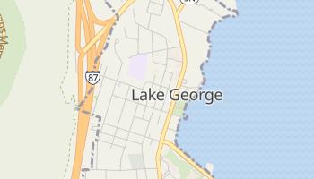 Lake George, New York map