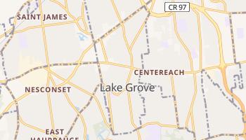 Lake Grove, New York map