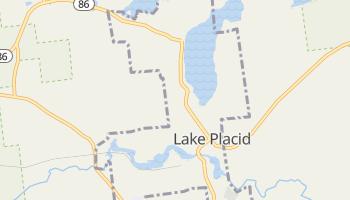 Lake Placid, New York map