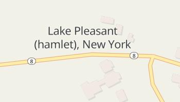 Lake Pleasant, New York map