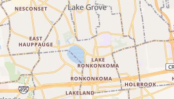 Lake Ronkonkoma, New York map