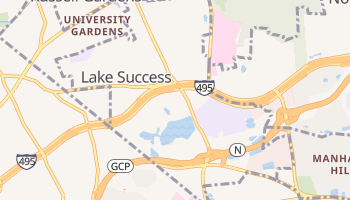 Lake Success, New York map