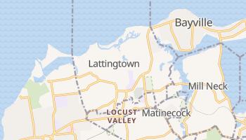 Lattingtown, New York map