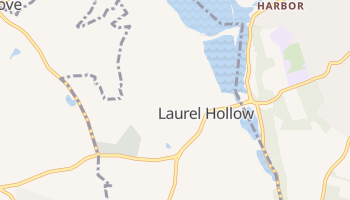 Laurel Hollow, New York map