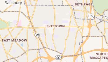 Levittown, New York map