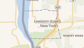 Lewiston, New York map