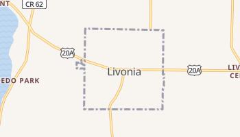 Livonia, New York map