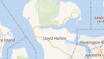 Lloyd Harbor, New York map