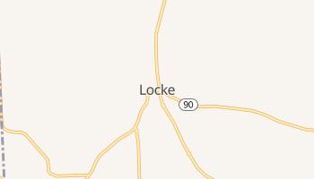 Locke, New York map