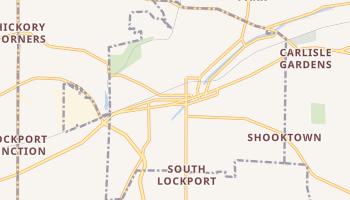 Lockport, New York map