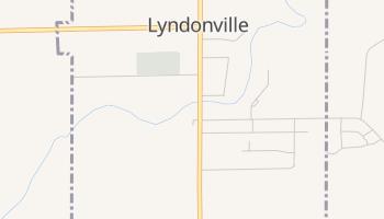 Lyndonville, New York map