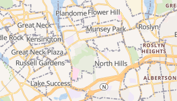 Manhasset, New York map