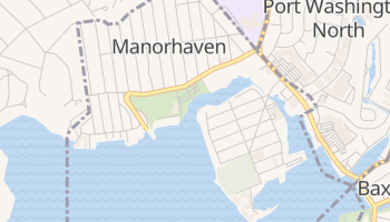 Manorhaven, New York map