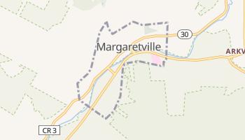 Margaretville, New York map