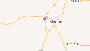 Marion, New York map