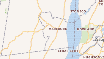 Marlboro, New York map