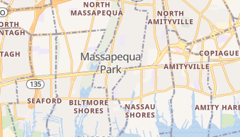 Massapequa Park, New York map