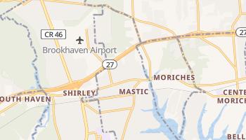 Mastic, New York map