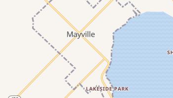 Mayville, New York map