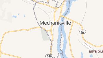 Mechanicville, New York map