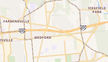 Medford, New York map