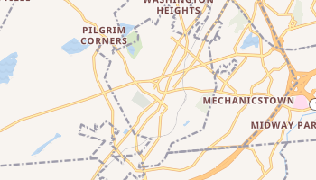 Middletown, New York map