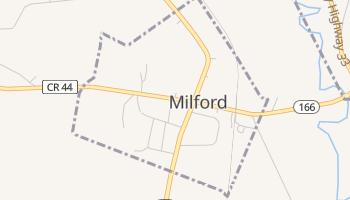 Milford, New York map