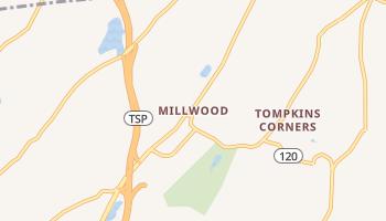 Millwood, New York map