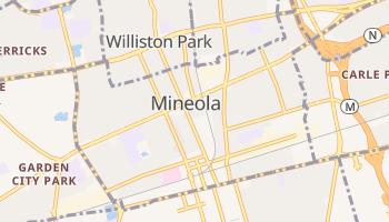 Mineola, New York map
