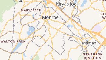Monroe, New York map