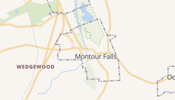 Montour Falls, New York map