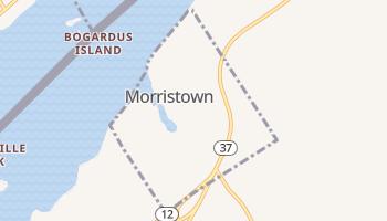 Morristown, New York map