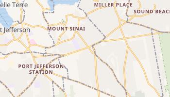 Mount Sinai, New York map