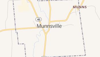 Munnsville, New York map
