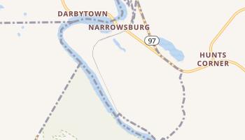 Narrowsburg, New York map