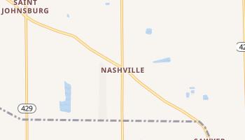 Nashville, New York map