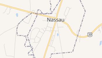 Nassau, New York map