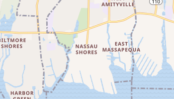 Nassau Shores, New York map