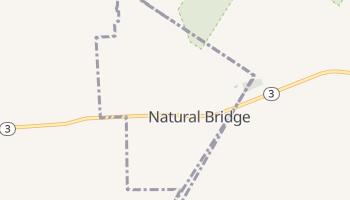 Natural Bridge, New York map