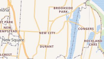 New City, New York map