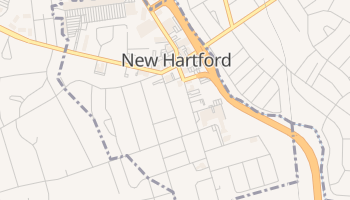 New Hartford, New York map