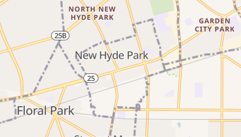 New Hyde Park, New York map