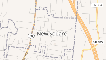 New Square, New York map