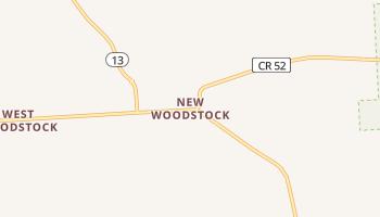 New Woodstock, New York map