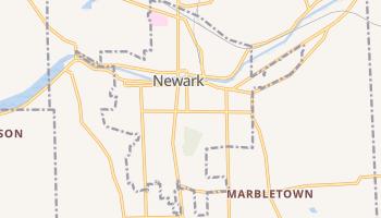Newark, New York map