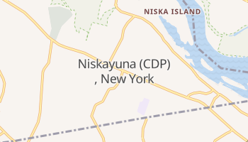 Niskayuna, New York map