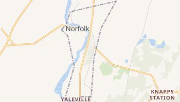 Norfolk, New York map